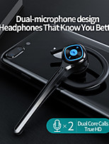 cheap -Single Detachable Ear Hook Business Bluetooth Headset 110mA Wireless Ear-mounted Headphone HD Call Noise Reduction Long Standby Earphone For Driving