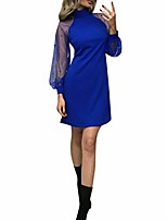 cheap -court dress elegant women court princess dress halloween maid costume long sleeve uniform medieval vintage dresses ladies printed one-shoulder strap dress retro dress blu