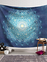 cheap -Wall Tapestry Art Decor Blanket Curtain Hanging Home Bedroom Living Room Decoration Polyester Fiber Line Geometric Symmetric Pattern Orchid Pavilion Design