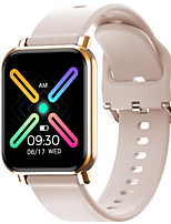 cheap -W18 Smartwatch for Apple/Android Phones, Sports Tracker Support Heart Rate/Blood Pressure Measure