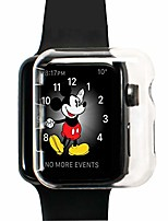 cheap -apple watch 2 case 42mm series 2, slim, hard case, pc, hd, clear transparent, screen protective