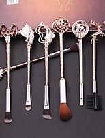 cheap -8 pcs magic hairpin game of thrones makeup brush set with gift bag eyeshadow eyeliner blending