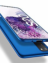 cheap -samsung galaxy s20 case, [guardian series] soft flex tpu case ultra-thin mobile phone case silicone bumper cover protective bag shell protective case for samsung galaxy s20 5g - blue
