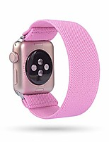 cheap -replacement elastic watch band compatible with apple watch 38mm 40mm 42mm 44mm, fashion fancy hair wristbands compatible with iwatch series 5/4/3/2/1 women girl(42mm,44mm)