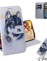 cheap -Case For Nokia Nokia 9 PureView / Nokia 4.2 / Nokia 3.2 Shockproof Full Body Cases Animal PU Leather / TPU
