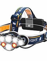 cheap -led headlamp headlamp, headlamp usb more rechargeable headlamps sport spotlights for hiking running fishing camping climbing (8 led)