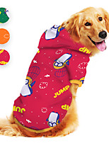 cheap -Dog Hoodie Penguin Animal Cartoon Funny Cute Casual / Daily Dog Clothes Puppy Clothes Dog Outfits Breathable Red Orange Green Costume for Girl and Boy Dog Polyster S M L XL