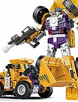 cheap -engineering vehicle transformation toys truck transformers construction deformation robots for kids toddlers children shovel