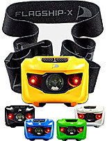 cheap -insane sale flagship-x waterproof cree led camping headlamp flashlight for running (yellow)
