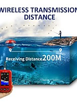 cheap -Erchang Fish Finder Portable Wireless Sonar 48m/160ft Depth 200m Distance Range Lake Fish Detect Professional Fish Finder