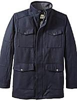 cheap -men's big-tall brighton military four-pocket jacket, navy, 4x/big