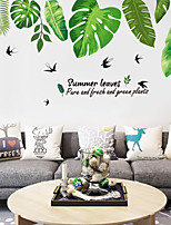 cheap -Animals / Floral / Botanical Wall Stickers Plane Wall Stickers / Animal Wall Stickers Decorative Wall Stickers, PVC Home Decoration Wall Decal Wall / Window Decoration 1pc