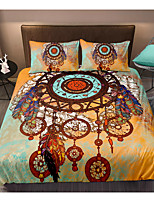 cheap -Indian Style Dreamcatcher 3-Piece Duvet Cover Set Hotel Bedding Sets Comforter Cover with Soft Lightweight Microfiber For Room Decoration(Include 1 Duvet Cover and 1or 2 Pillowcases)