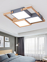 cheap -48 cm LED Ceiling Light Modern Square Design Flush Mount Lights Metal Painted Finishes Modern Nordic Style 110-120V 220-240V