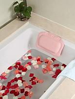 cheap -PVC Foaming Material Sponge Bath Pillow Bathtub Back Pillow Bathroom Bath Head Pillow Suction Cup Bath Pillow 1PCS
