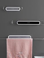 cheap -Towel Rack Free Punched Toilet Single Rod Suction Cup Rack Toilet Stainless Steel Bath Towel Wall Bathroom Rack