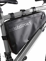 cheap -bike frame bag waterproof bicycle triangle bag cycling bags front top tube bag bicycle phone pouch bag suitable for road mountain bike/bmx bike/motorcycle bike etc (black, 40cmx36cmx24cm)