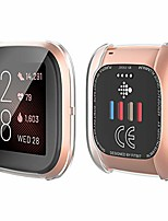 cheap -[2-pack] fitbit versa 2 protective case, soft ultra thin tpu screen protector all-around case for 2019 new fitbit versa 2 (2 transparent)