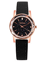 cheap -Women's Quartz Watches Quartz Stylish Fashion Casual Watch Analog Black Purple Red / One Year / PU Leather