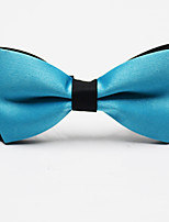 cheap -Men's Party / Work / Basic Bow Tie - Solid Colored