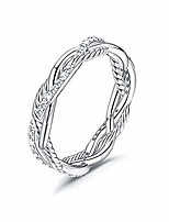 cheap -925 sterling silver twist rings for women men 14k gold plated aaa+ cubic zirconia twisted rope rings wedding bands jewelry gift rings