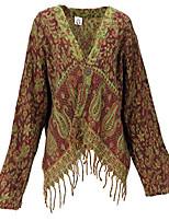 cheap -bolero jacket, casual jacket, women, bordeaux / lemon, synthetic, size: 40, boho jackets, vests alternative clothing