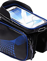 cheap -bike bag for cellphone bicycle waterproof 6.2 inch touch screen storage handlebar bag outdoor or mount cycling bicycle mobile phone