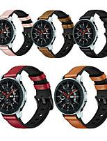 cheap -Watch Band for Huawei Watch / Vivoactive 3 / Samsung Gear S3 Samsung Galaxy / Huawei / Garmin Leather Loop Silicone / Genuine Leather Wrist Strap