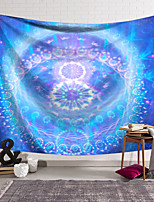 cheap -Wall Tapestry Art Deco Blanket Curtain Hanging Home Bedroom Living Room Dormitory Decoration Polyester Fiber Color Purple Blue Pattern Pattern Orchid Pavilion Design