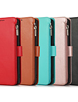 cheap -Case For Samsung Galaxy S20 Plus / S20 Ultra / S20 Shockproof Full Body Cases Solid Colored PU Leather