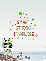 cheap -Cartoon Color English Alphabet Children Room Home Personality Tv Background Wall Can Remove The Stickers
