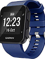 cheap -shieranlee band compatible with garmin forerunner 35, soft silicone watch band replacement strap, for garmin forerunner 35 smart watch, fit 5.11-9.05 inch (130mm-230mm) wrist