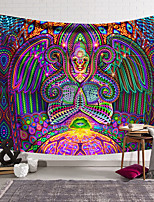 cheap -Wall Tapestry Art Decor Blanket Curtain Hanging Home Bedroom Living Room Decoration Polyester Hippie Monster Psychedelic Abstract
