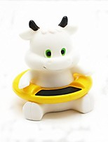 cheap -cute animal baby infant bath thermometer floating bathtub toy  (white)