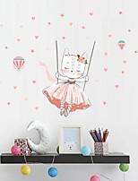 cheap -Wall Stickers Plane Decorative Wall Stickers, PVC Home Decoration Wall Decal Wall Decoration 1pc