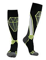 cheap -Men's Women's Ski Socks 1 Pair Winter Breathability Softness Socks Patchwork Wool Ski / Snowboard / Cotton / Elastane