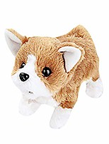 cheap -electric plush puppy dog walking barking interactive pet toy, electronic interactive dog can walk and barking cute touch control robot dog for boys and girls
