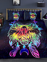 cheap -Animal Series Colorful 3-Piece Duvet Cover Set Hotel Bedding Sets Comforter Cover with Soft Lightweight Microfiber For Holiday Decoration(Include 1 Duvet Cover and 1or 2 Pillowcases)