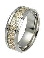 cheap -celtic dragon rings for men women stainless steel luminous glow glow wedding band silver golden jewelry (10)
