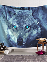 cheap -Wall Tapestry Art Decor Blanket Curtain Hanging Home Bedroom Living Room Decoration Polyester Wolf