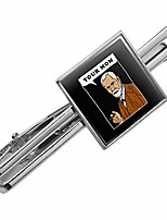 cheap -your mom sigmund freud funny humor square tie bar clip clasp tack- silver or gold