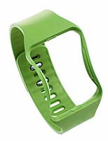 cheap -sports strap compatible with samsung gear s r750 watch, replacement watchband soft silicone waterproof wristband fashion design men women compatible with samsung (green)
