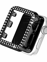 cheap -bling case compatible with iWatch Apple Watch Series SE / 6/5/4/3/2/1 44mm 42mm 40mm 38mm  full cover bumper protective frame screen protector for iwatch series