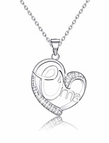 cheap -oma gift grandmother gift oma jewelry grandma necklace birthday for grandma (oma necklace silver)