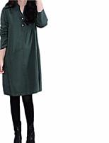 cheap -women's shirt dress uk 18 green