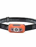 cheap -headlamps rechargeable led head torch water resistant adjustable comfortable strap usb headlamp for running walking cycling fishing camping orange,1