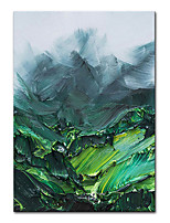 cheap -100% Hand Painted Contemporary Art Oil Paintings on Canvas Modern Stretched and Framed Abstract Landscape Artwork Ready to Hang