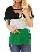 cheap -women's long sleeve tunic dress v neck casual loose swing shift dress