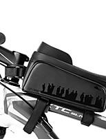 cheap -CoolChange Cell Phone Bag Bike Frame Bag Top Tube Rain Waterproof Waterproof Zipper Wearable Bike Bag TPU PU(Polyurethane) Bicycle Bag Cycle Bag Outdoor Exercise School