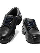 cheap -Men's Oxfords Daily Office & Career Walking Shoes Cowhide Waterproof Non-slipping Black Spring Fall